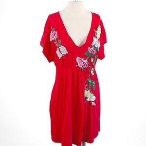 Johnny Was JWLA Embroidered Dress